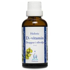 Witamina D3 w kroplach (50 ml) - Holistic