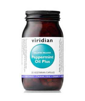 Peppermint Oil Plus DR (30 kaps) - Viridian