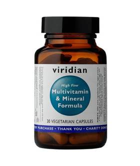 Multiwitamina - High Five Multivit & Mineral Formula (30 kaps) - Viridian