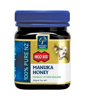 Miód Manuka MGO400+ (250g) - Manuka Health New Zealand